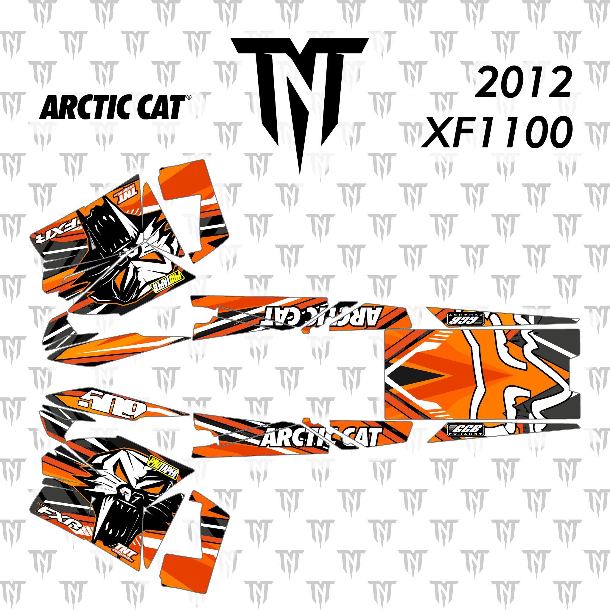 2012 Arctic Cat XF1100
