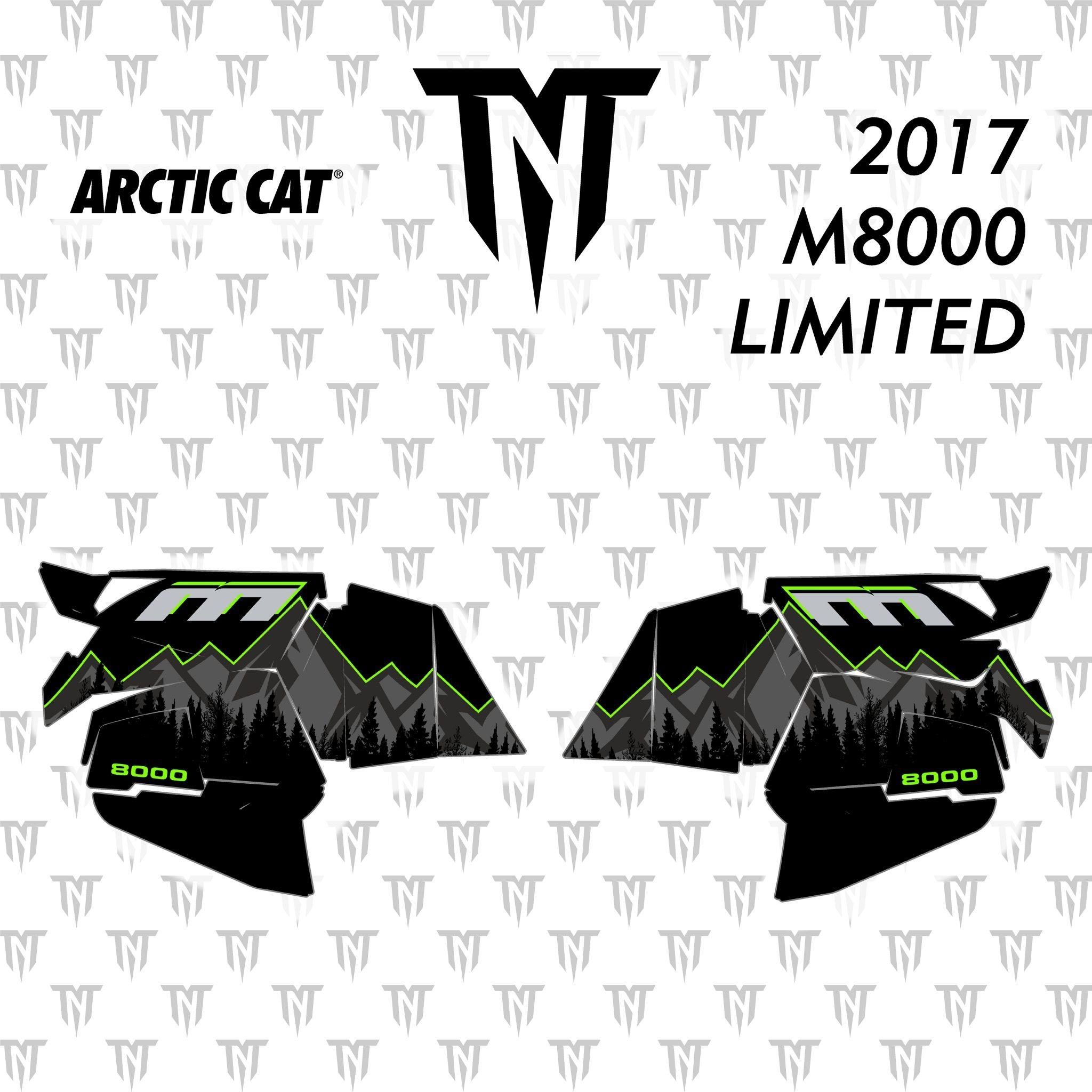 2017 Arctic Cat M8000 Limited