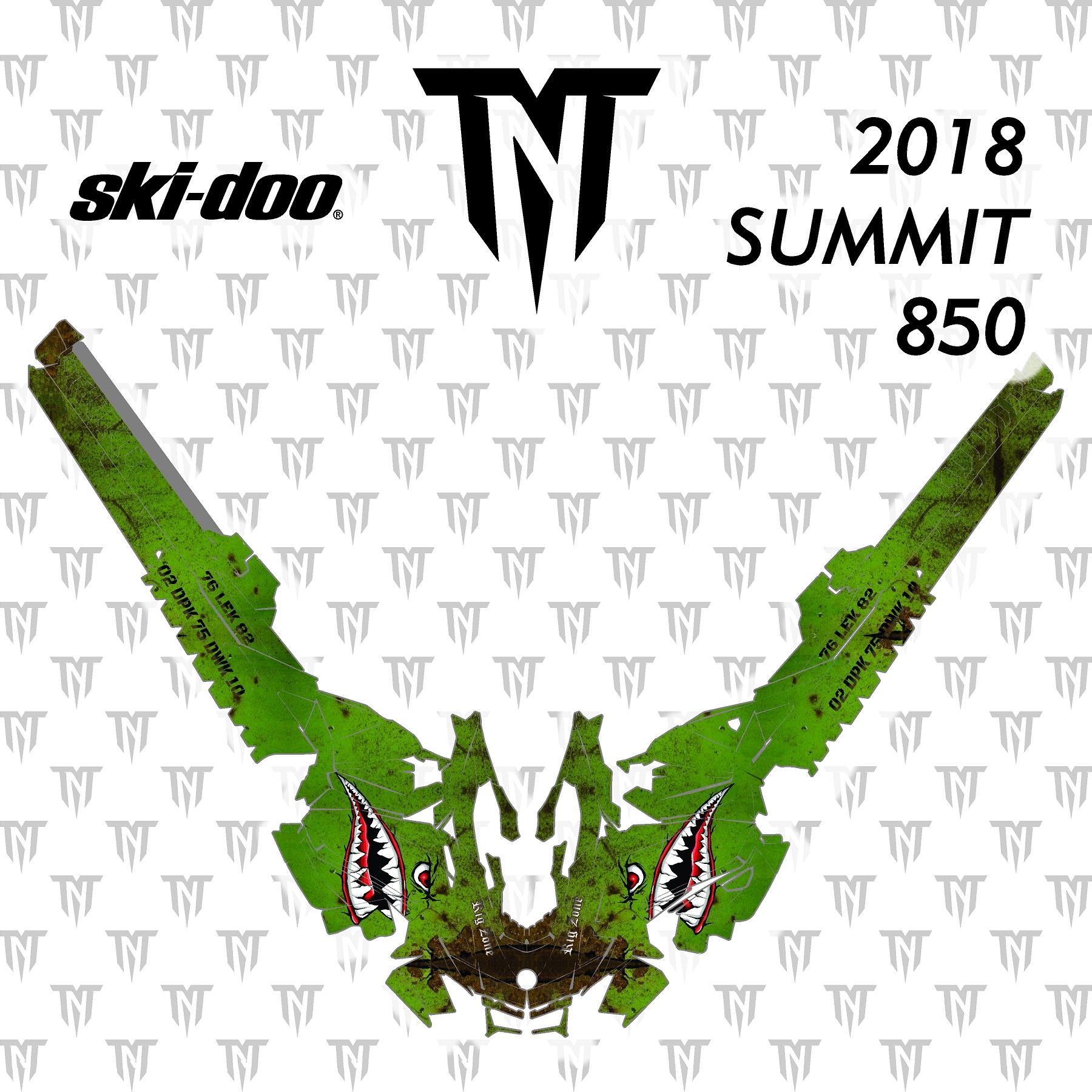 2018 Ski-Doo Summit 850