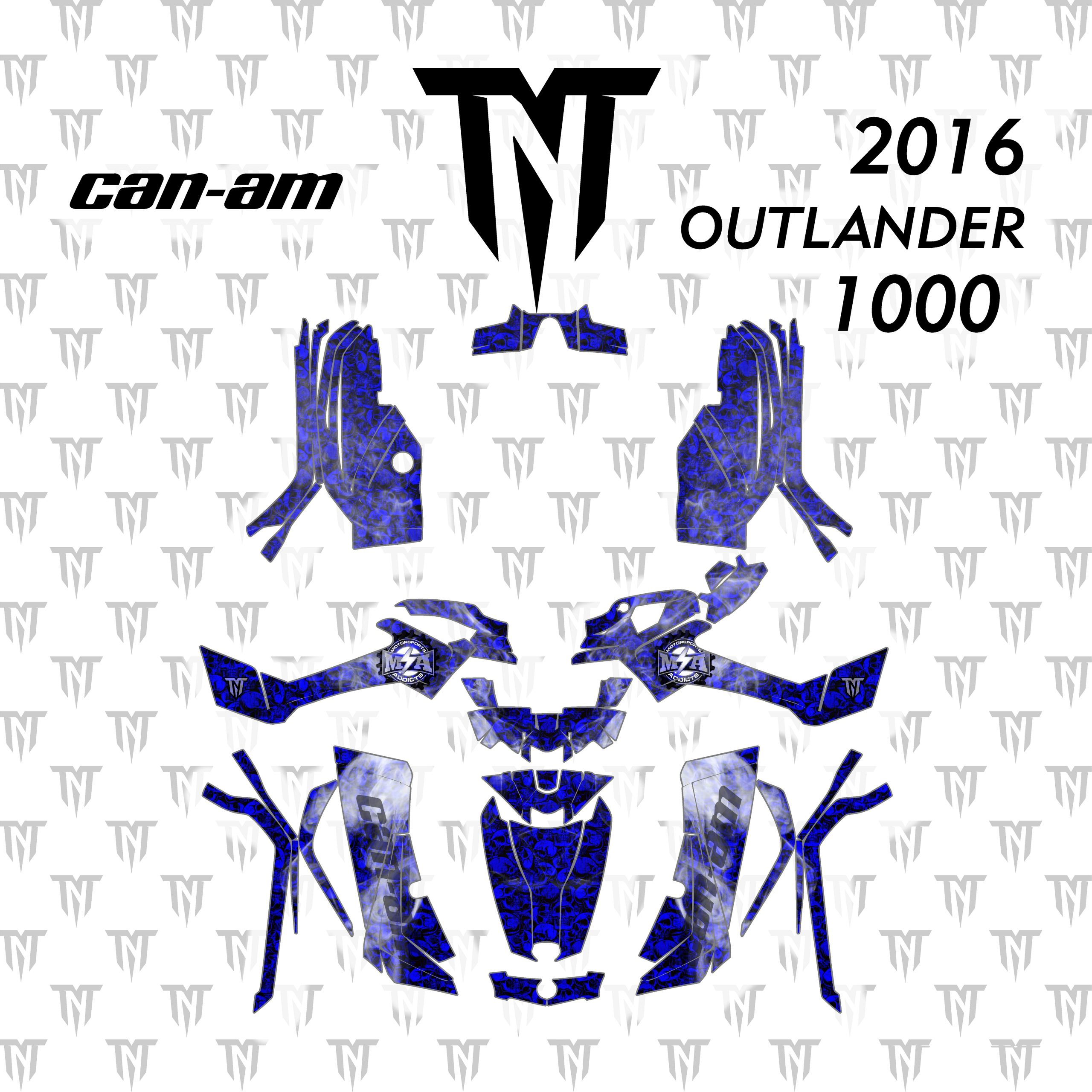2016 Can-Am Outlander 1000
