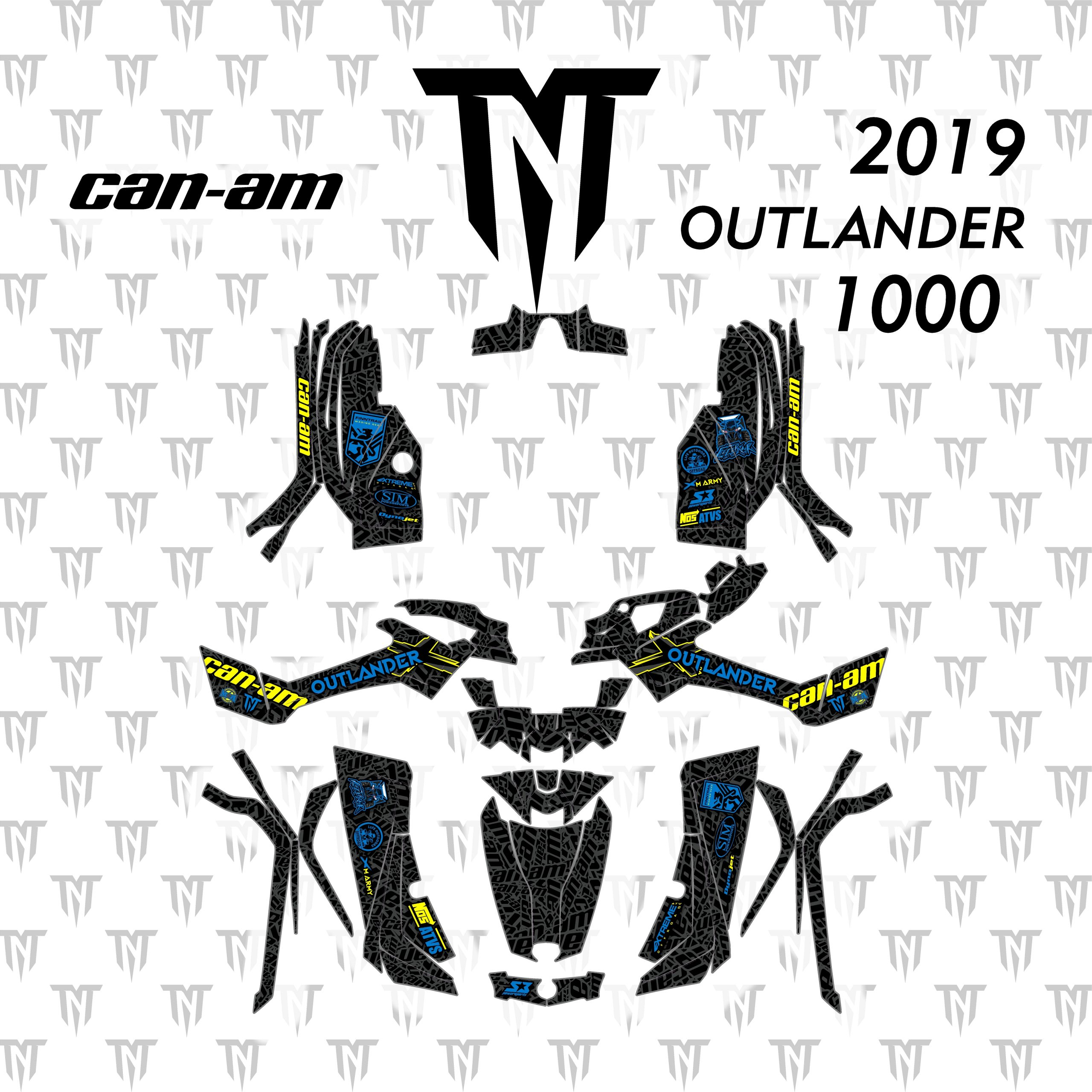 2019 Can-Am Outlander 1000